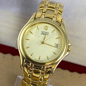 Vintage Citizen Elegance  Gold Tone Men's Watch